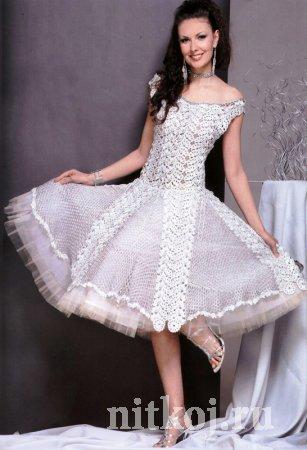 вечернее платье крючком самое интересное в блогах