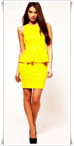1bd0319f043 платье с баской - Самое интересное в блогах