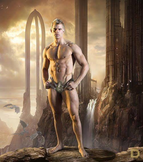 Malewarrior naked — photo 14