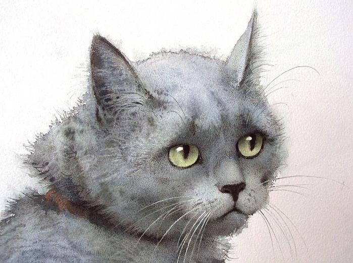 худ Татьяна Краснова кот (700x522, 131Kb)