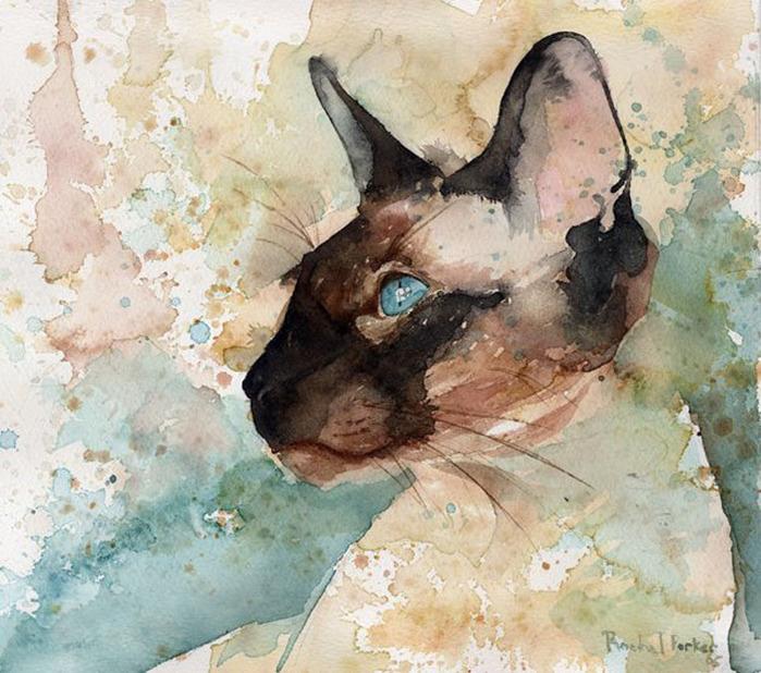 Американская художница Рэйчел Паркер (700x618, 161Kb)