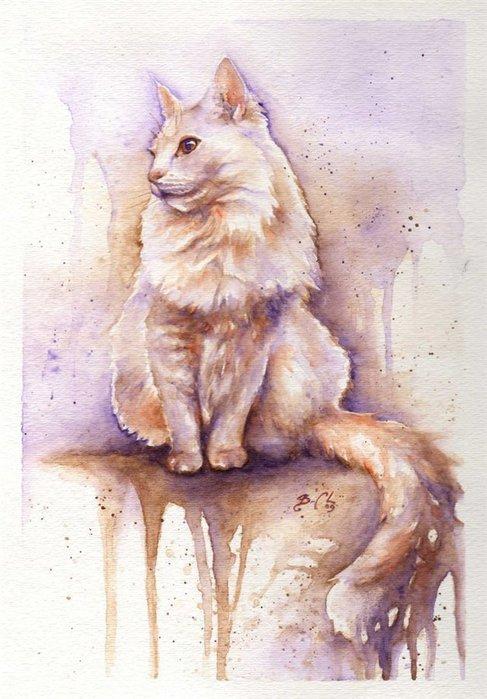 Cats by Braden Duncan.6 (487x700, 75Kb)