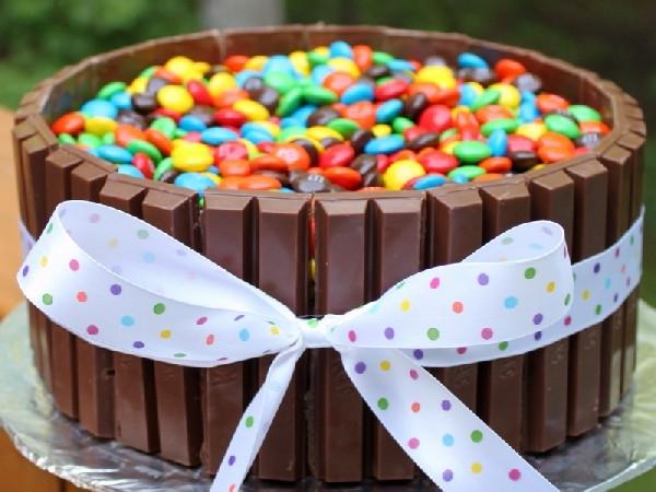 470Торт из конфет своими руками на день рождения ребенка видео
