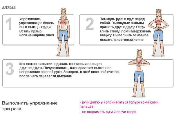 Схема Гимнастики Для Похудения.