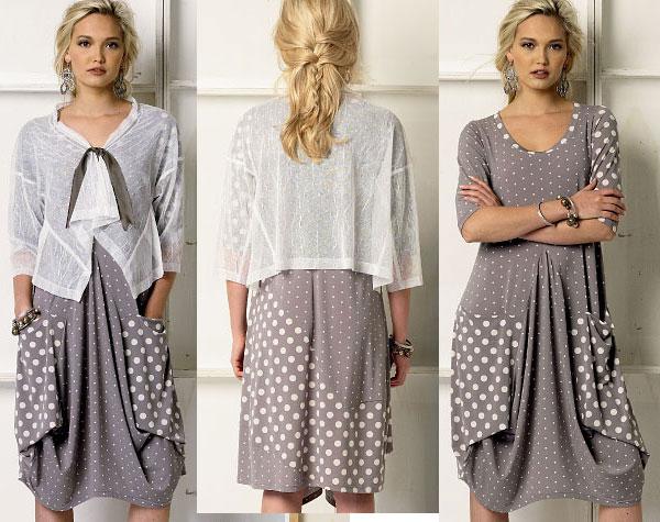 Помогите найти выкройку такого платья - Из ученицы - в ... | 475x600