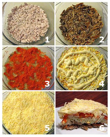 салат петроградский рецепт с фото
