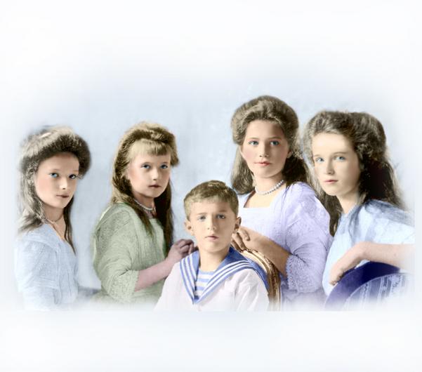 Дети семьи Романовых
