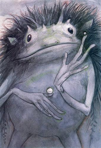 рисунок странного существа