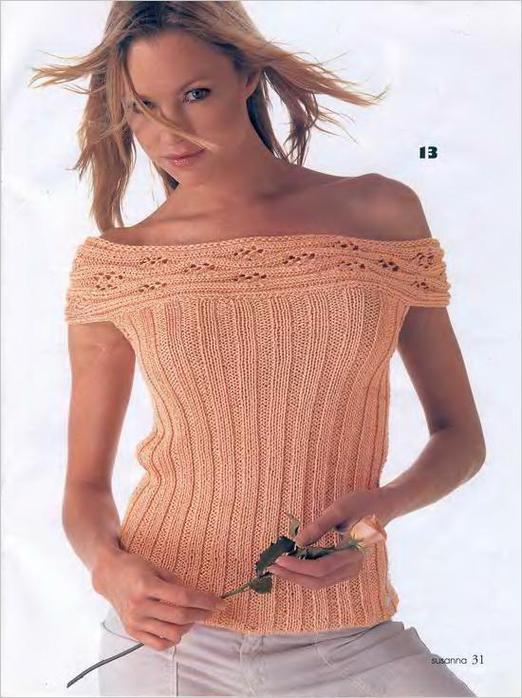 Modele tricot top gratuit