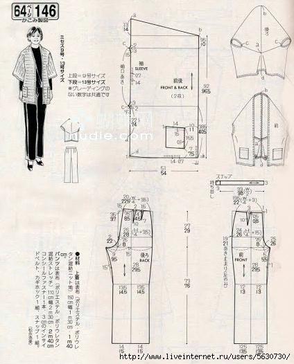6dae3a4f4bd японские выкройки - Самое интересное в блогах