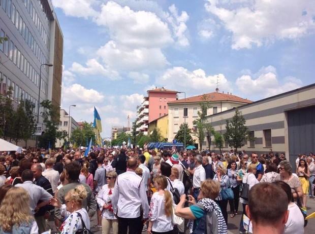 украина выборы 2014 25 мая за рубежом