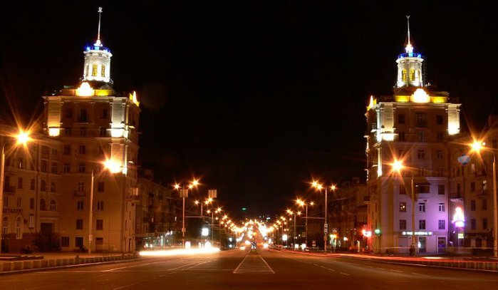 Запорожье,проспект Ленина- 12.8 км Украина