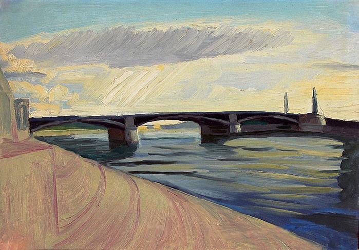 бронекатера рисунок в москве реке давно