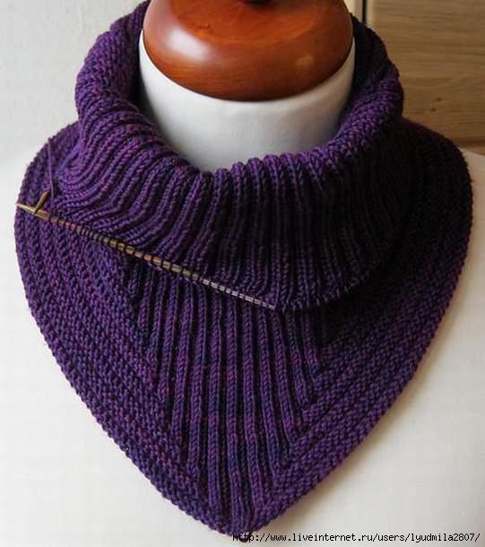 Манишку от николы susen описание вязания