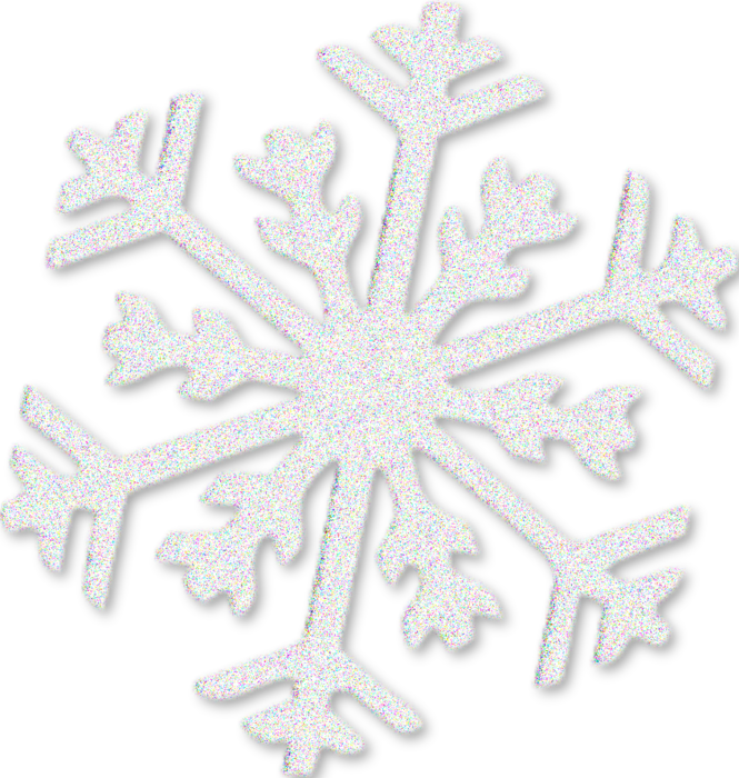 Снежинка в пнг белая