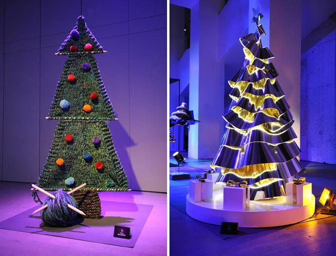 Дизайнерские новогодние елки фото