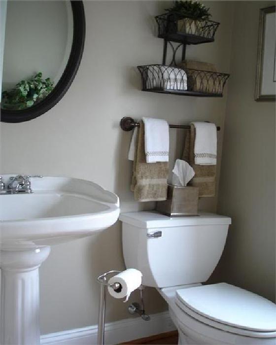 Innovative bathroom storage