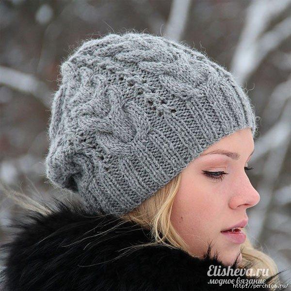 шапка звезда рока вязаная спицами обсуждение на Liveinternet