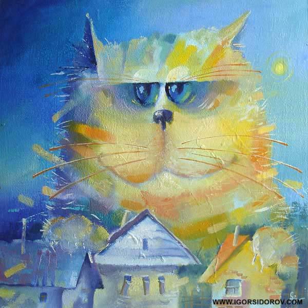рассуждения кота