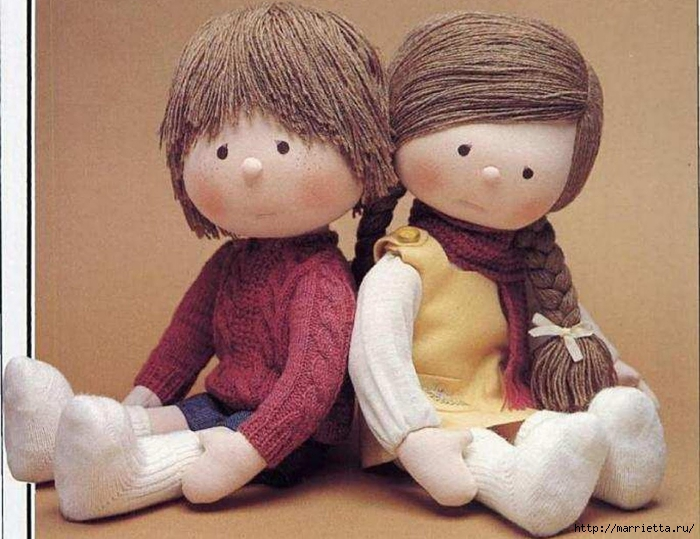 Шьем куклы мастер класс сделай сам #6