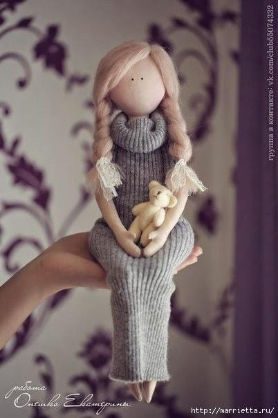 Шьем куклы мастер класс сделай сам #1