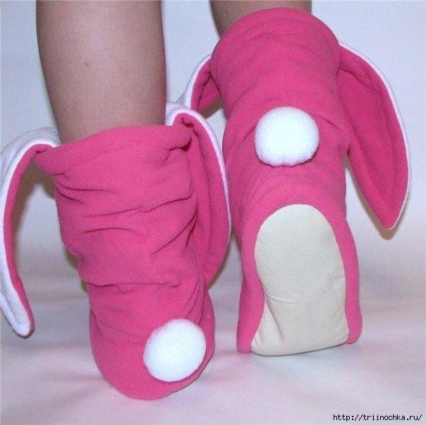 Щьем обувь дома мастер класс поделка #1