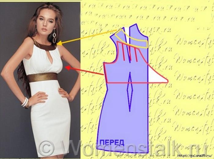 cb846f52c94 сшить летнее платье - Самое интересное в блогах