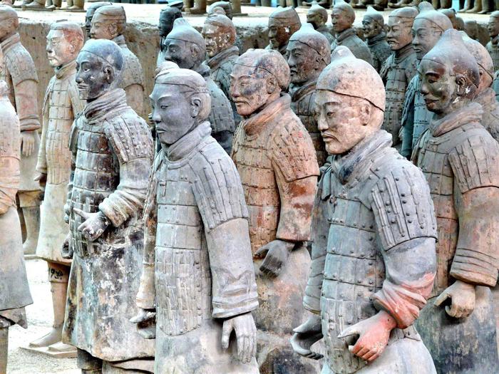 ♥ღ♥Терракотовая армия — молчаливые стражники китайского ...