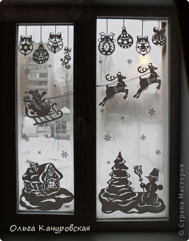 Как украсить дом на Новый год (40 фото) Дом Мечты