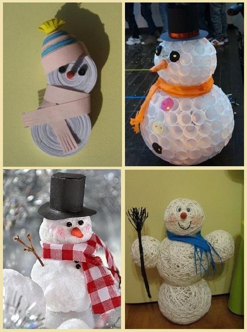 фотографии снеговиков из бумаги группы ласковый