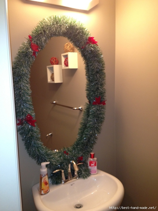 Новогодний интерьер ванной комнаты Обсуждение на