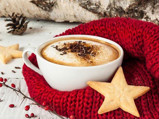 кофе зима новый год