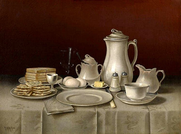 Thomas H. Hope. Still-Life-with-Breakfast-8259-15317 (700x518, 216Kb)