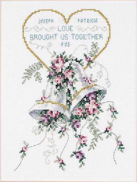 Днем, открытки крестом схема свадьба