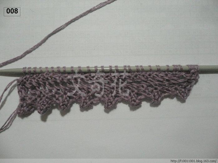 вязание бактуса с ажурным краем спицами