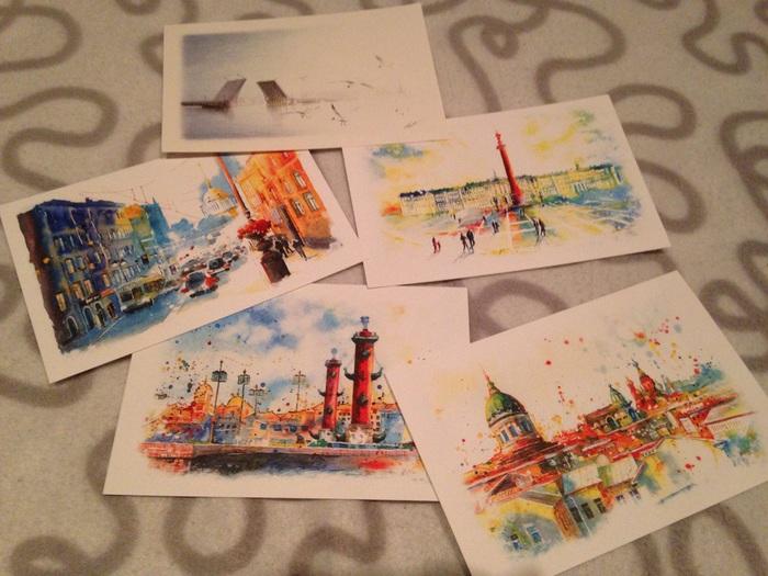 Традиция отправлять открытки из других городов, утро картинки