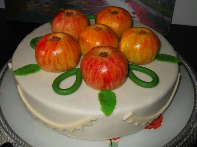 торт яблоко картинки очень украсил сериал