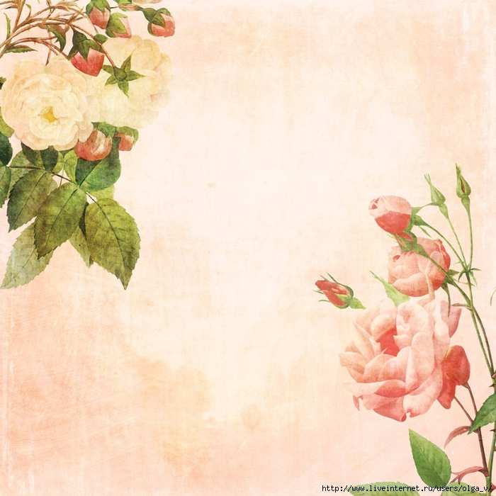 Распечатать красивый фон для открытки