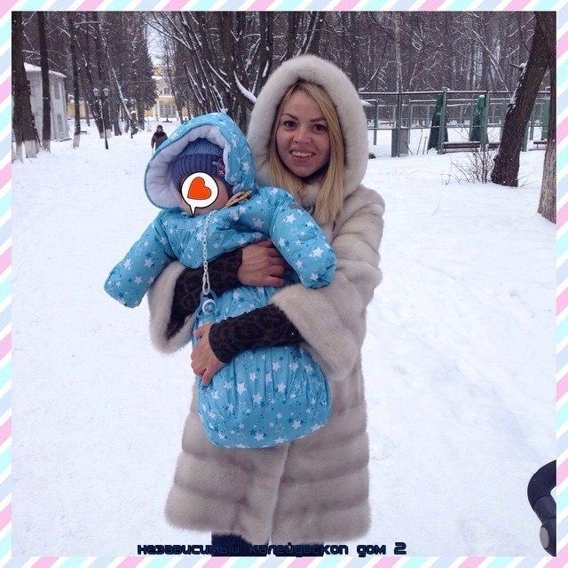 Стрункина и ее ребенок фото