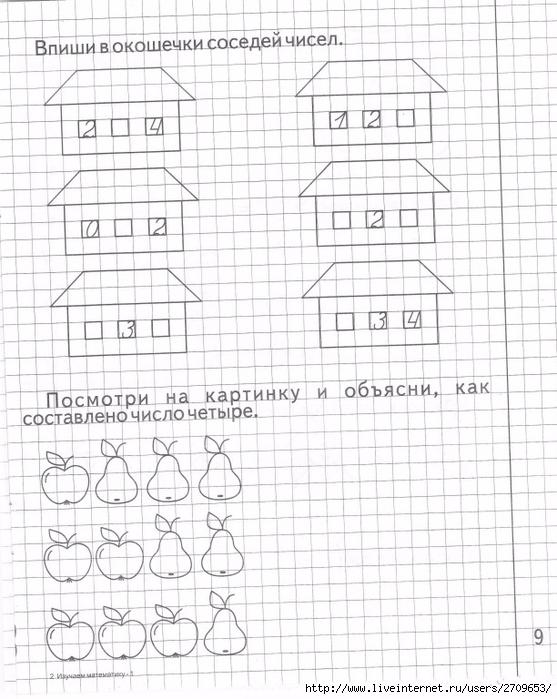 1 математику гдз изучаем часть
