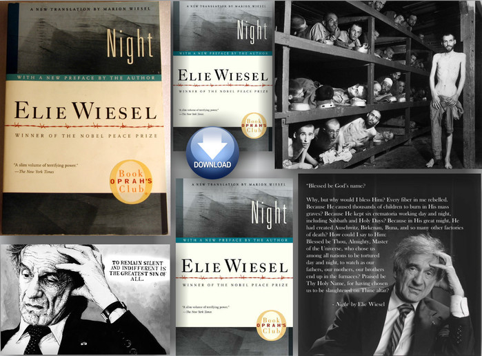 an introduction to the book night by elie wiesel Wanna sound smart in english class here are 20 questions you can ask about pretty much any shakespeare play.