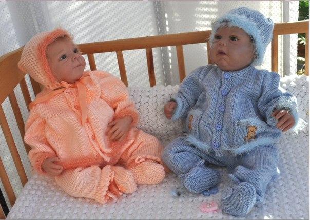 вязание новорожденным от 0 до года