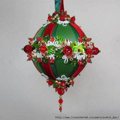 Новогодние шары своими руками пошаговое фото фото 209