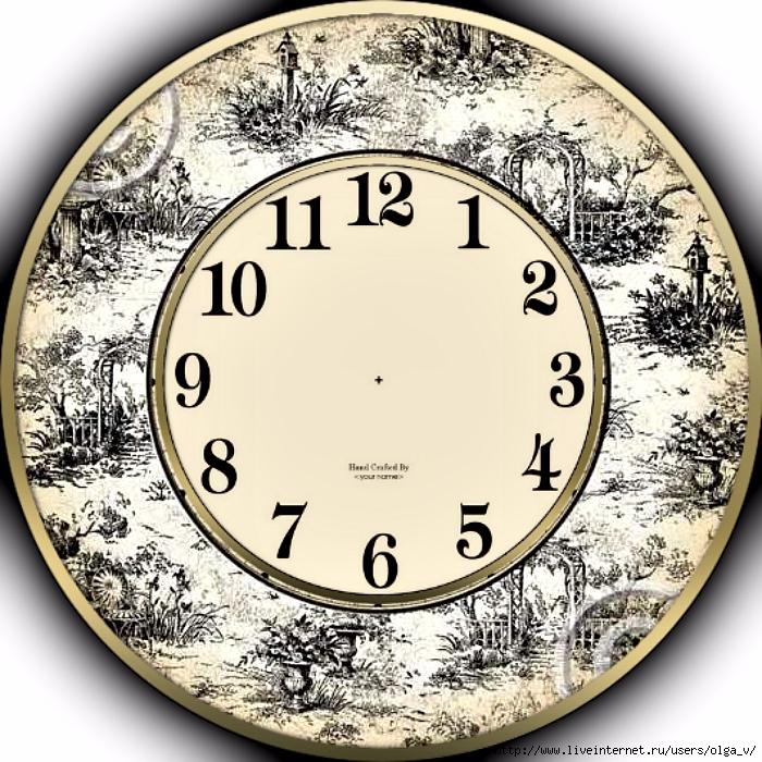большая картинка циферблата часов домашний