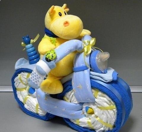 Мотоцикл из памперсов своими руками фото фото 608