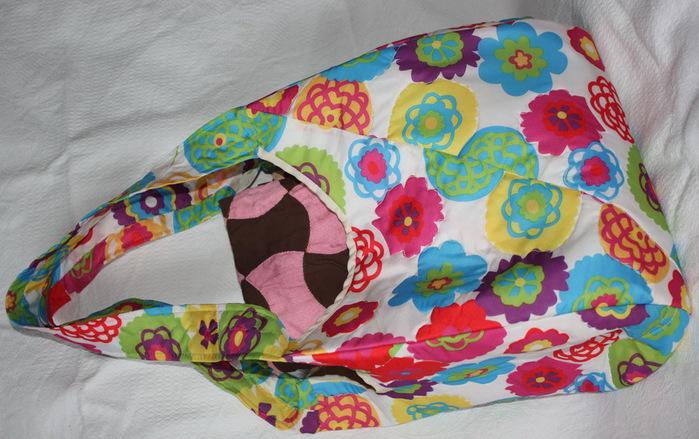 Как сшить сумку с зонтиками 6