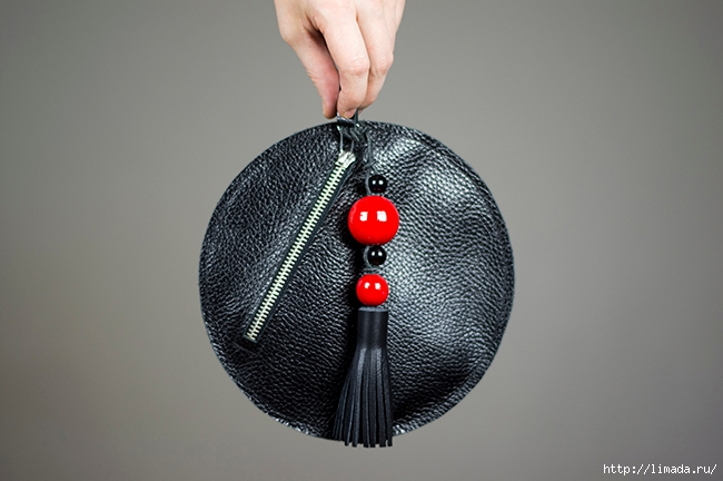 diy leather round clutch by www.fashionrolla.com-20(650x432, 165Kb)