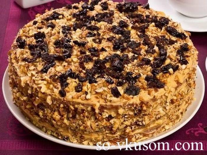 рецепт торт персидская ночь