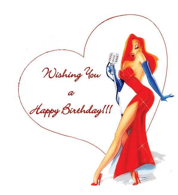 Поздравление, рыжие картинки с днем рождения