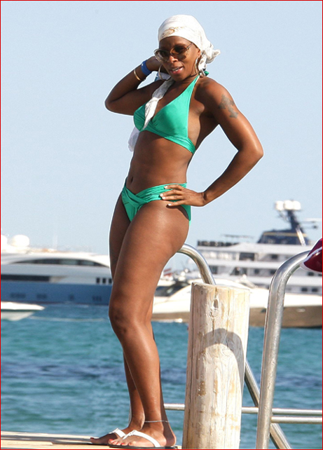 Very grateful mary j blige bikini